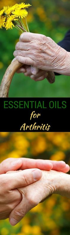 Essential Oils for Arthritis - If you or someone you love suffers from Arthritis, you will want to read this post on Essential Oils for Arthritis so that you can end arthritis pain naturally. via @wendypolisi