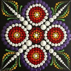 6x6 #dot #dotworktattoo #mandalatattoo #mandala #mandalas #mandalaart #dotart #painting #art #handmade #wellness #decor #homedecor #paintings #dotmandala #mandaladotwork #instaart #instaartist #acrylicpainting #acrylics #handmadeart #meditation #peace #crafts #craft #colors #color #beautifulhomes #home #pointillism