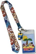 Fairy Tail: Sd Beach Group Lanyard