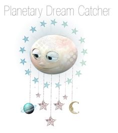 """Planetary Dream Catcher"" by melange-art ❤ liked on Polyvore featuring art"