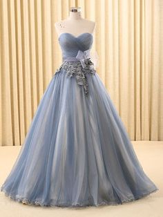Strapless Gray Home Coming Ball Gown Dress | RS6802-C
