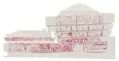 Fisuras y grietas en el Museo Guggenheim de NY antes de su restauración