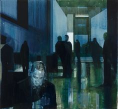 Kenneth Blom · Hotellet · 2012 · 120 x 130 cm
