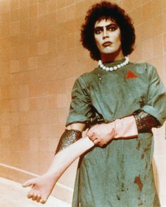 Tim Curry Photo: Rocky Horror Picture Show Rocky Horror Show, The Rocky Horror Picture Show, Tim Curry Rocky Horror, Dr Frankenfurter, Feels Meme, Michael C. Hall, The Frankenstein, Horror Movies, Good Movies
