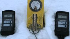12/15/2013 -- ☢ ELEVATED LEVELS of Radiation ☢ 76.9CPM in the Snow - St....