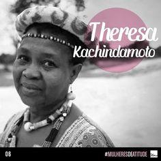 Mulher negra africana e ativista dos direitos humanos. Em um país que permite que meninas se casem a partir dos 12 anos de idade Theresa Kachindamoto persiste na luta contra tradições culturais arcaicas e violentas. Em três anos ela já anulou 850 casamentos forçados e mandou de volta à escola as meninas coagidas.  Acesse o blog no nosso site (www.oceane.com.br) e se encante ainda mais com o poder das mulheres de atitude!