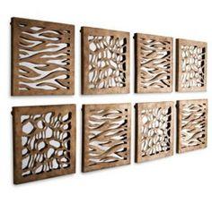 Modern Gold Jungle Print Mirrored Square Set   Zebra Leopard