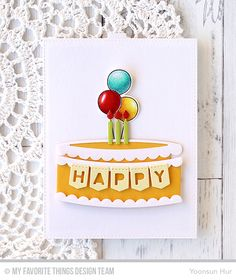 Hello crafty friends! Welcome to MFT July Twice the Wishes Card Kit Countdown Day 2. The July kit is super fun! I'm pretty sure that our interactive birthday cakes make you smile and happy!!!…