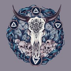 Carved Skull - New Colors