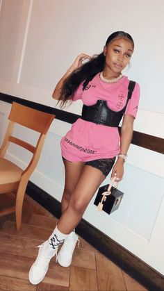 Cute Swag Outfits, Cute Comfy Outfits, Classy Outfits, Outfits For Teens, Trendy Outfits, Girl Outfits, Fashion Outfits, Women's Fashion, Fast Fashion