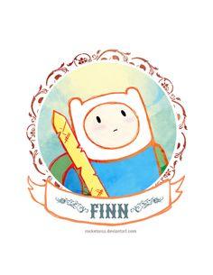 Finn by *rocketorca on deviantART