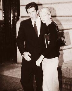 Caroline Bissette y John Kennedy