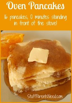 My Favorite Kitchen Shortcut: How to make pancakes in the oven.