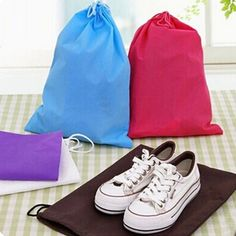 Aliexpress.com: Comprar Alta calidad GT bolso zapatos portátiles recorrido de la bolsa con cordón de polvo bolsas no tejidas AUFT de bolsas vendedor fiable proveedores en Jun Jun Store