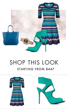 """""""[83] Zigzag dress."""" by ka-berger ❤ liked on Polyvore featuring Rolex, M Missoni, Giuseppe Zanotti, Givenchy, Summer, Spring, ootd, MyStyle and SS16"""