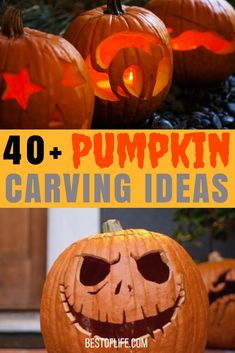Show your personality on Halloween with pumpkin carving ideas for all ages! Easy Pumpkin Carving Ideas   Disney Pumpkin Carving Ideas   Pumpkin Carving Ideas for Couples   Pumpkin Carving Ideas for Kids Crazy Creative Pumpkin Carving Ideas