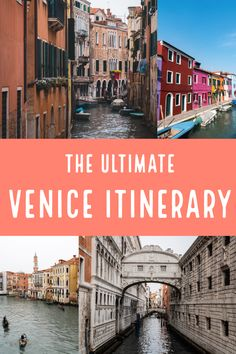 2 days in Venice, one of the most iconic cities in Italy and Europe is not enough, with so many things to do in this beautiful bucket list destination we narrow down what a 2 day itinerary in Venice should look like. From gondola rides to visiting beautiful well-known locations in Venice like St Marks Square and the canals to hidden gems such as Burano #venice #italy #europeplaces