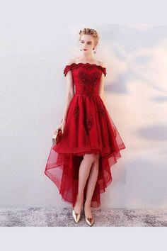 2fb6fd963d 7 Best High low evening dresses images