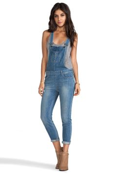 798f36c6e74 Shop for Siwy Sasha Slouchy Skinny Overalls in Cruising Around at REVOLVE.  Free day shipping and returns