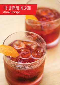 When it comes to festive beverages, orange peels do a stellar job at giving any liquor combination a hint of fresh citrus flavor. Take this Ultimate Negroni Cocktail for instance, it makes the perfect fresh addition to your Thanksgiving party or holiday mixed drink menu! Head to BevMo! to grab the London dry gin, vermouth, and Campari.