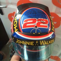 Jenson buttons helmet