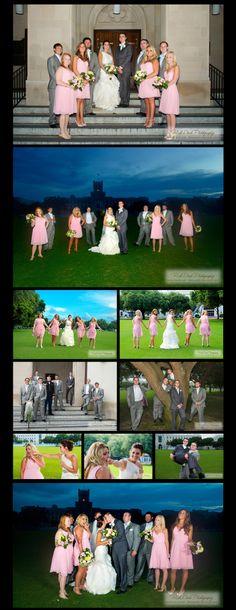 Wedding Party Funderburk + Wilbanks Summerall Chapel Wedding ©Rick Dean Photography 2013