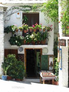 balcony garden like terra cotta pots on railing DIY Garden Yard Art When growing your own lawn yard Balcony Design, Garden Design, Small Gardens, Outdoor Gardens, Porches, Balcony Flowers, Potted Flowers, Flower Pots, Balcony Garden