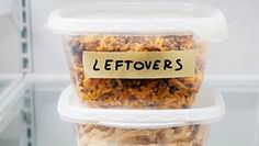 Eat Your Leftovers, It's Good For The Environment! #environment #FoodWaste