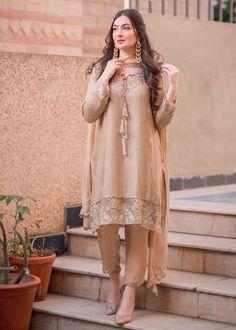 Pakistani Party Wear Dresses, Beautiful Pakistani Dresses, Designer Party Wear Dresses, Kurti Designs Party Wear, Pakistani Dress Design, Pakistani Outfits, Pakistani Models, Beautiful Dress Designs, Stylish Dress Designs