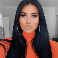 """Excited to share this item from my #etsy shop: LIMINAH 22"""" Black straight lacefront wig *NEW* With baby hairs Wig Hairstyles, Straight Hairstyles, Straight Lace Front Wigs, Front Lace, Long Straight Black Hair, Best Wigs, Long Wigs, Tips Belleza, Great Hair"""
