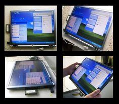 """In this instructable i will show how to do tablet pc the easy way(and the cheapest) , and how to do it hard way (including """"touch"""" screen etc). I personaly did it the hard way about half way and run out of materials and  i decided to finish it the easy way."""