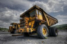 There's something mightily impressive about heavy industrial machinery, and the giant haul trucks that serve quarries and open-cast mining operations are no exception.