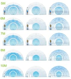 12 Geodesic Dome Tent Houses are Designed & Built - WuGong Mountain Resort Glamping, Tent Room, Geodesic Dome Homes, Bathroom Installation, Pvc Fabric, Luxury Tents, Lake Resort, Dome Tent, Dome House