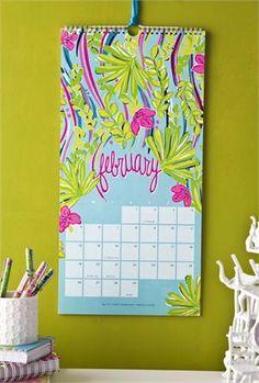 Lilly Pulitzer 2012 Calendar