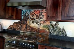 Classic Kitchen Style with Using Rustic Backsplash Idea Kitchen ...