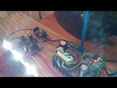 Building a running light LED array using 30 star LEDs, drivers, boost converter and Arduino