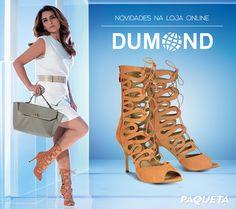 Agora você pode comprar Dumond na Paquetá. Mas só pra quem compra online #Fashion #shoes