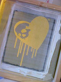 Printing. www.etsy.com/uk/shop/cchclothing