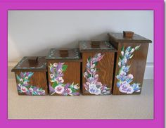 Wooden Canister Set