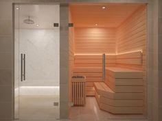 Nordic provides modern answers for traditional desires Steam Room, Gallery, Modern, Design, Trendy Tree, Saunas, Design Comics