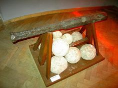 A hackbut of ca 1500 at Museum im alten Zeughaus of Bad Radkersburg, Austria