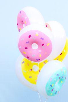 DIY Donut Balloons
