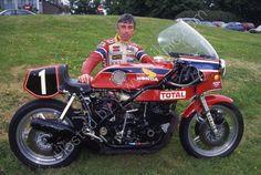 Honda RCB et Jean Claude Chemarin