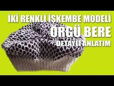 İKİ RENKLİ İŞKEMBE MODELİ İLE ÖRGÜ BERE YAPIMI - YouTube