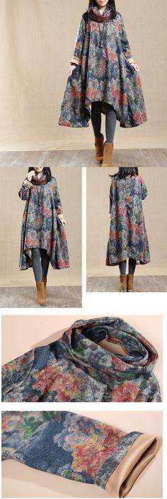 BUYKUD-Women Long sleeve autumn,made of 50% fiber, 45% polyester, 5% cotton Machine wash. buykud dresses