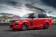 Brabus Startech Customizes a Range Rover Pickup