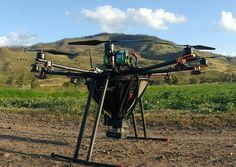 Using a Pixhawk-powered drone to drop bugs that kill other bugs - Quadcopter Blog