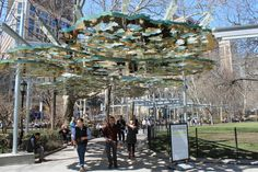 Madison Square Park Sculptures Will Block Sunlight and Trees, Locals Say - Flatiron - DNAinfo.com New York