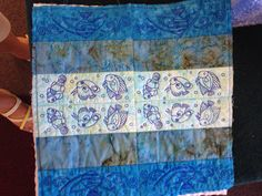 Quilting in the hoop - Quilt for all seasons - Summer (4 Block shown)