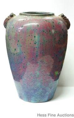 Lg Antique Chinese Qing Sang De Beouf Oxblood Liver Porcelain 8in Frog Vase